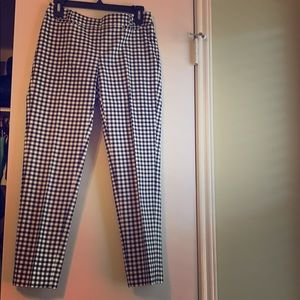 0R Gingham Ankle Pants
